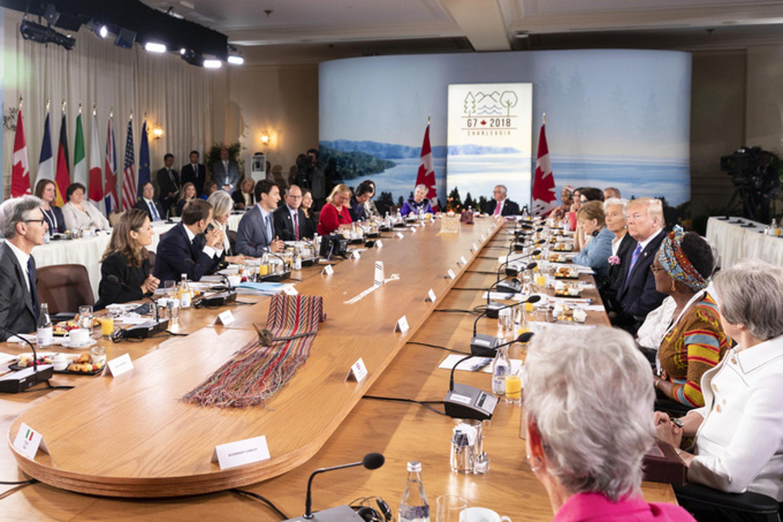 G7 - Vertice - Canada - commercio