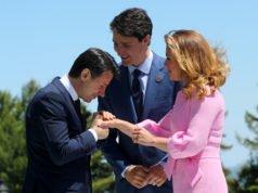 G7 - Vertice - Trudeau - Conte