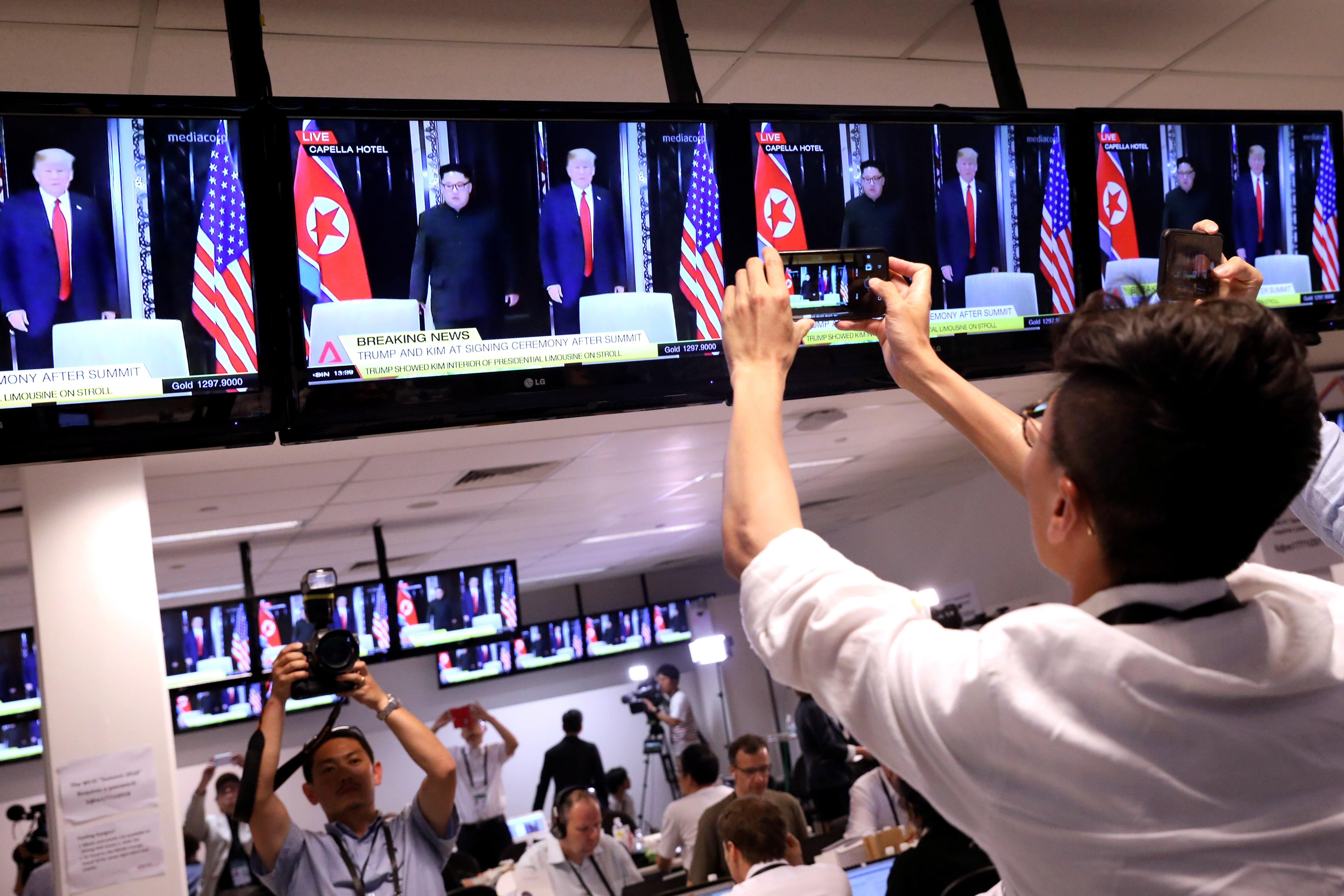 Corea - Singapore - Vertice - successo