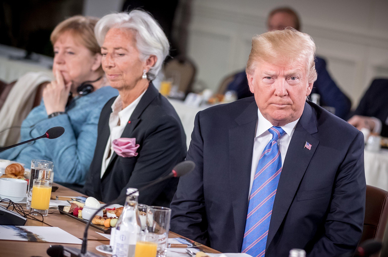 G7 - Trump - leader