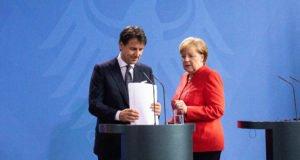 Conte - Merkel -Ue - migranti