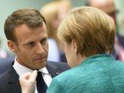 Ue - Vertice - migranti - Macron - Merkel