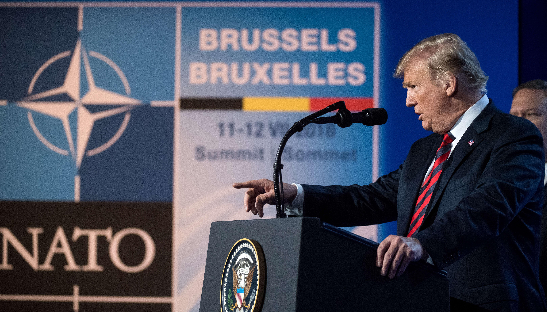 Nato - Vertice - Trump - spese