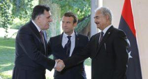 Libia - Italia - Francia - Macron