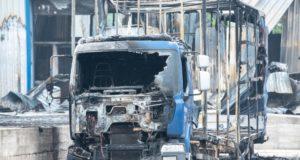 Tir - incendio - Altamura