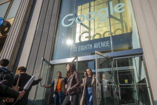Google - protesta