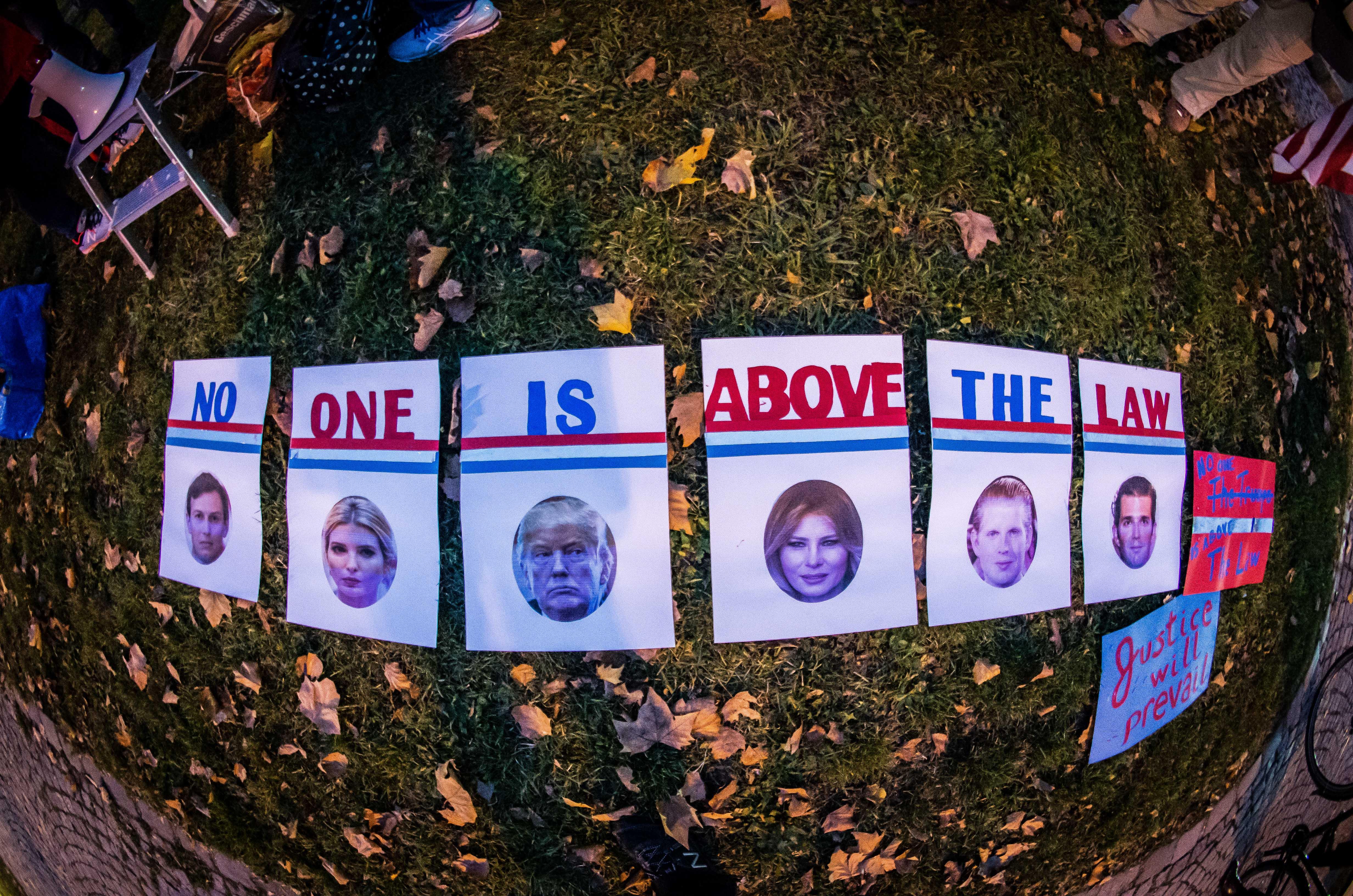 Mueller - Russiagate - proteste