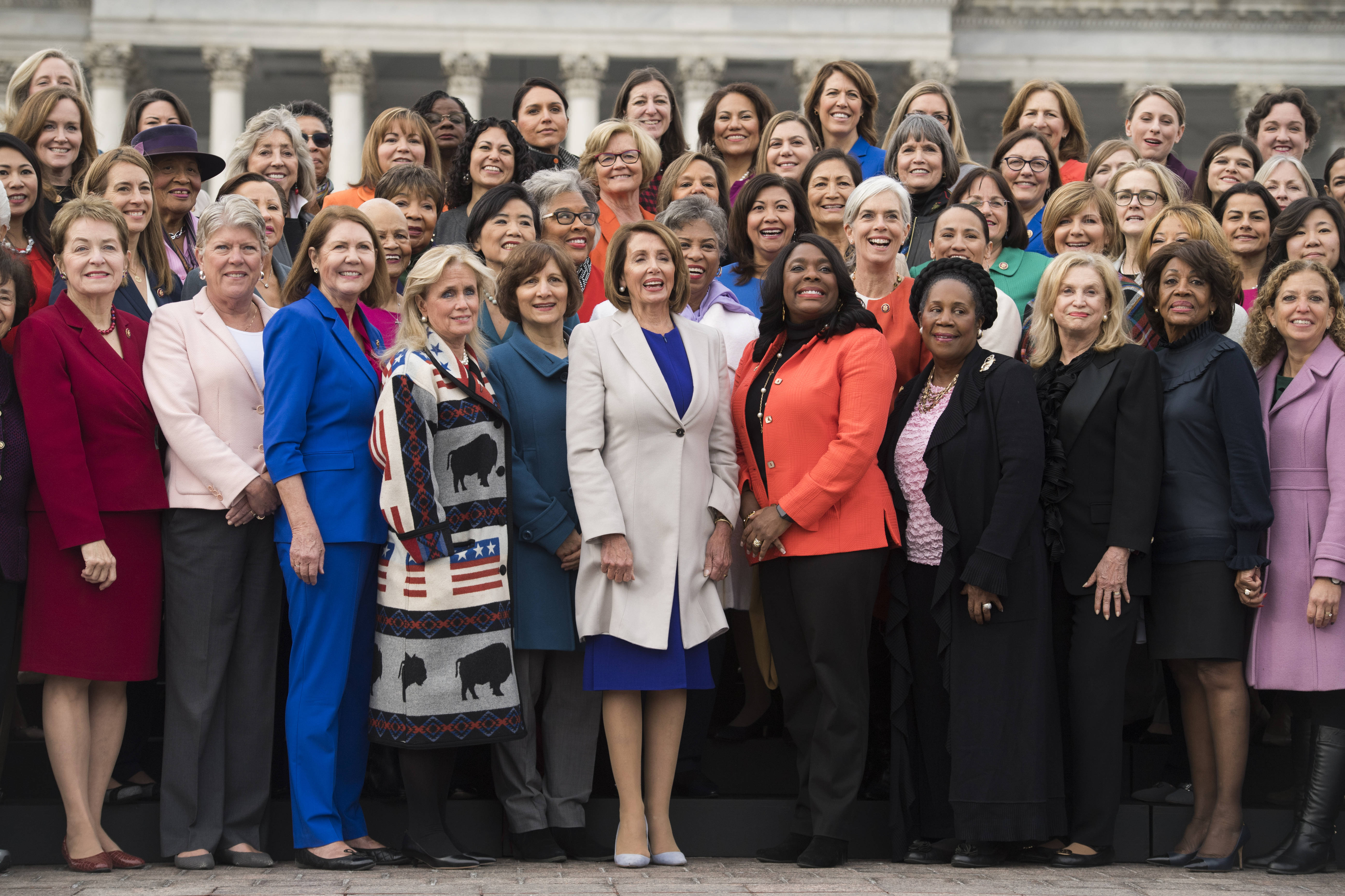 Usa - Congresso - donne -. muro