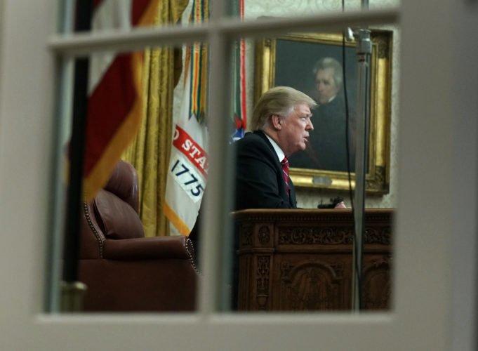 Usa - muro - shutdown - Trump