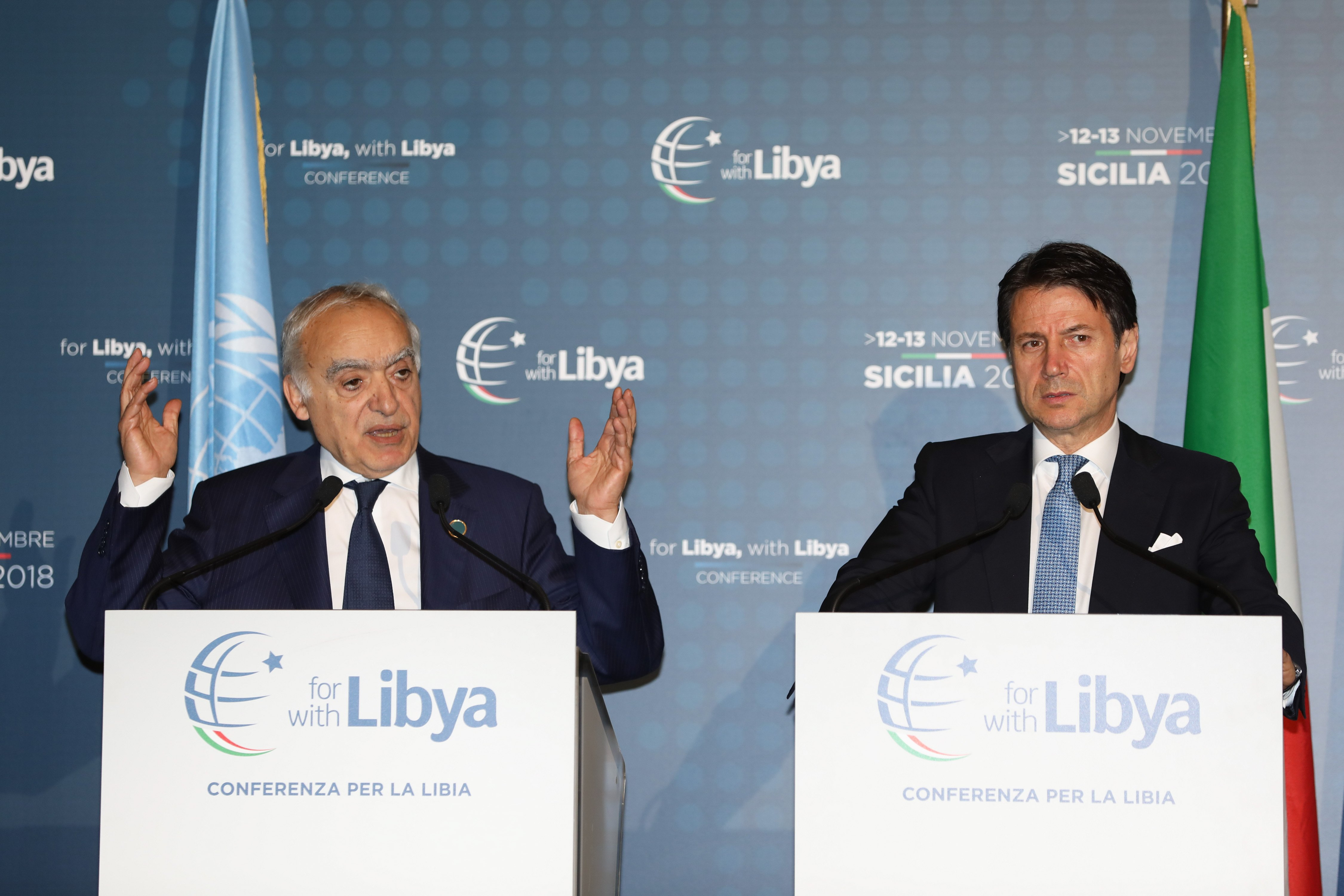 Libia - Onu - Salamé