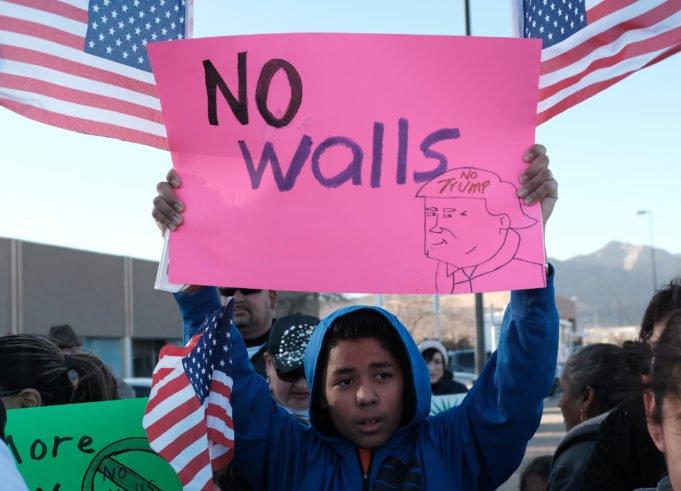 Trump - muro - El Paso
