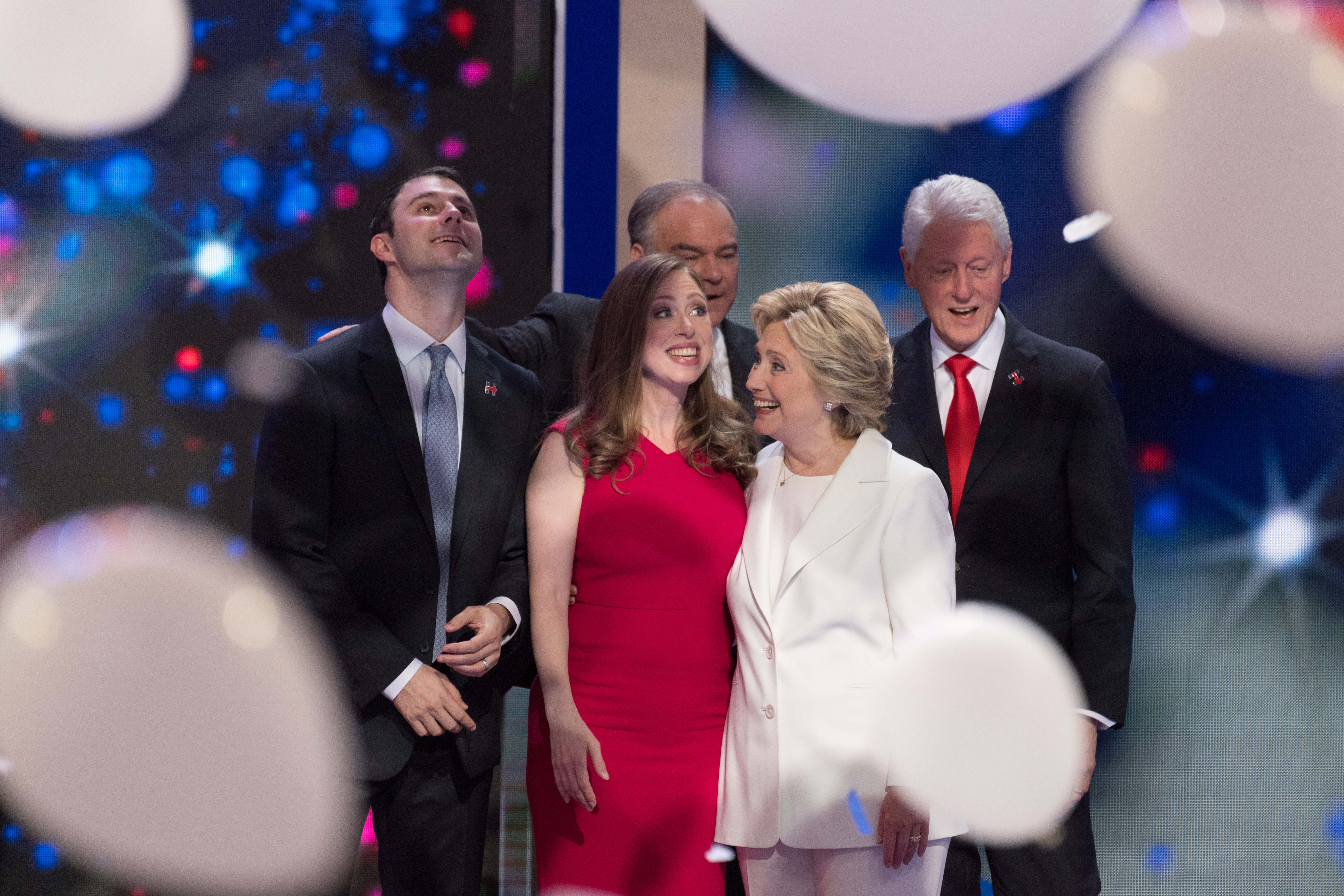 Clinton - Bill - Hillary - Chelsea