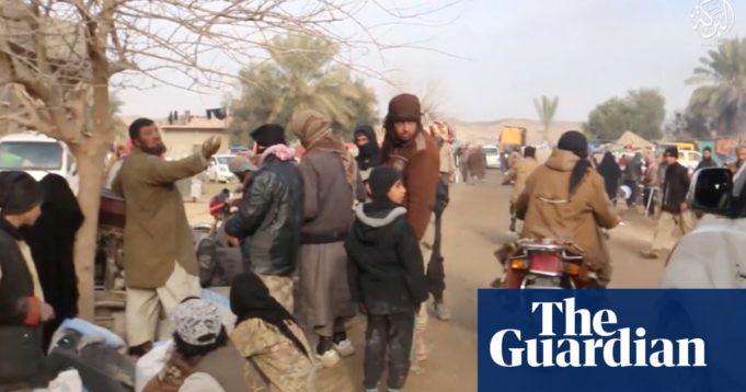 Siria - Baghuz - video