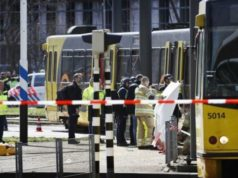 Utrecht - tram - shooting