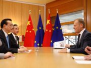 Ue - Cina - Li - Tusk