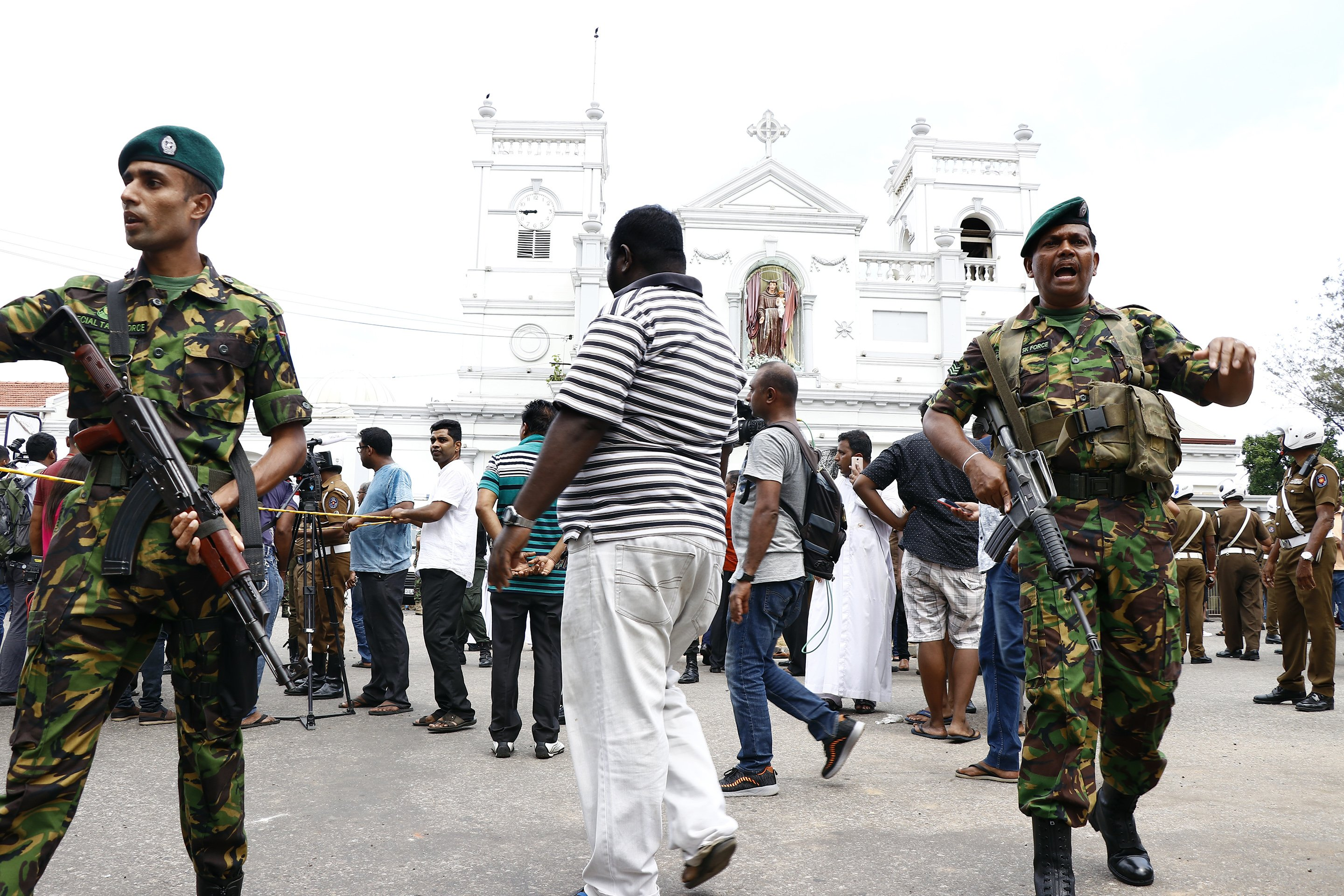 Sri Lanka - attentati - tweet
