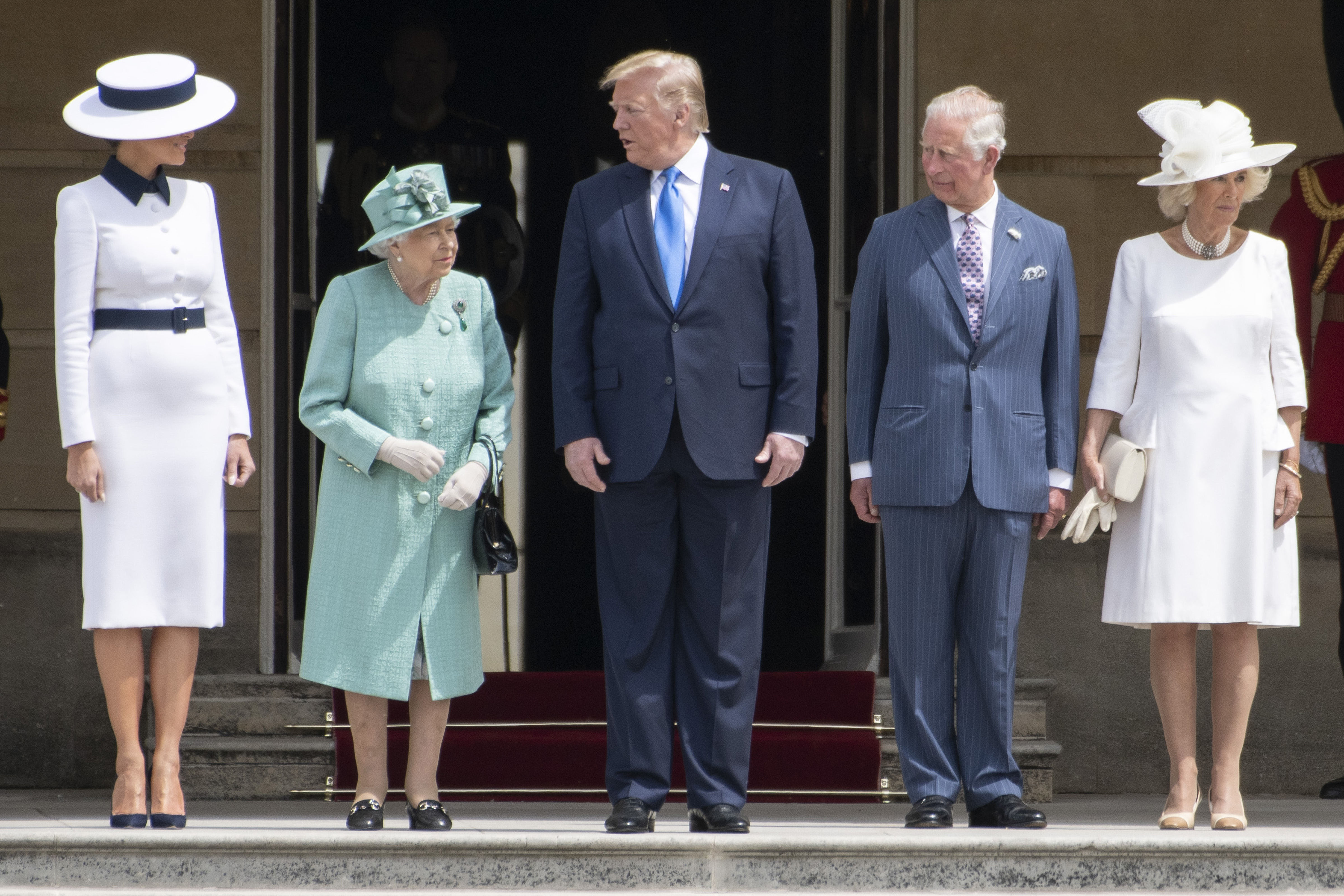 Trump - regina - Londra