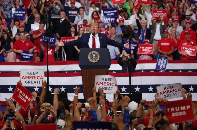 Usa 2020 - Trump