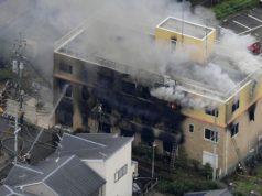 Giappone - incendio - violenza