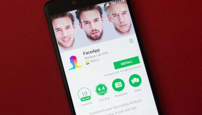 Face App - Usa - Russia