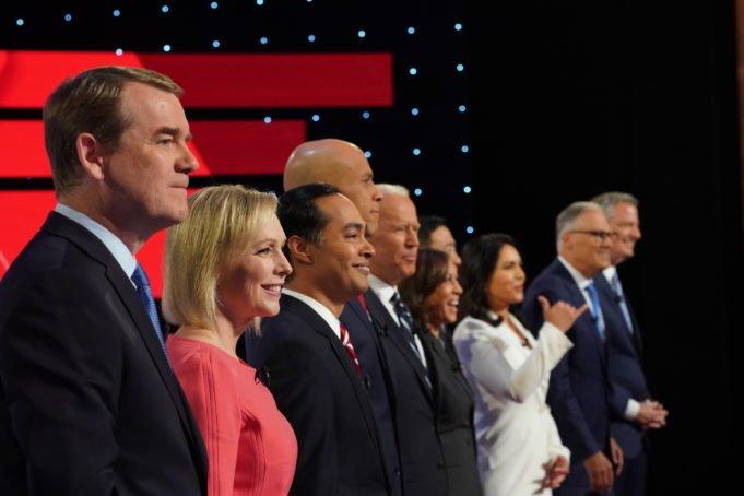 usa 2020 - democratici - dibattito - booker - biden