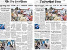 New York Times - Trump - El Paso