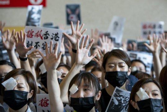 Hong Kong - proteste - terrorismo