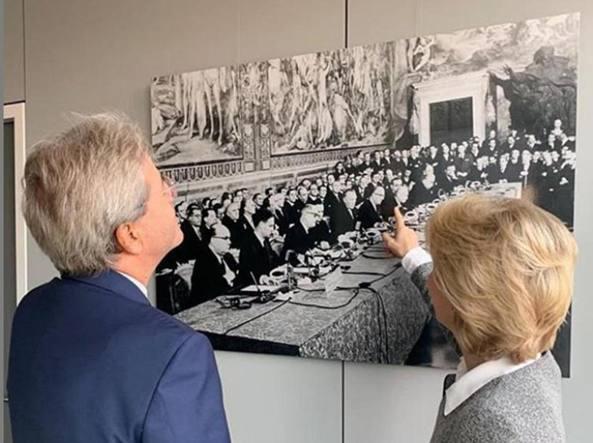Commissione europea - UvdL - Gentiloni