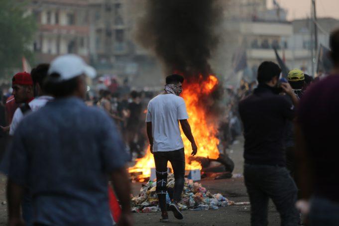 Iraq - proteste