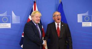 Brexit - Johnson - Juncker