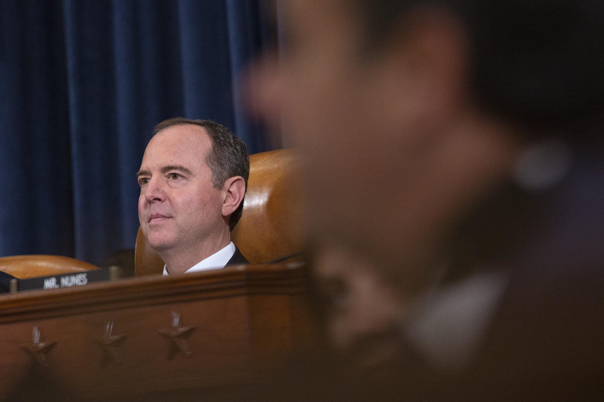 Usa - impeachment - Trump - Schiff