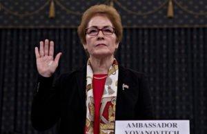 Usa - impeachment - Yovanovitch - ambasciatrice