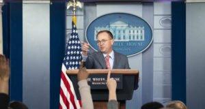 Usa - impeachment - Mulvaney - mail