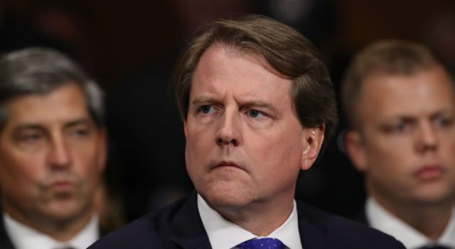 Usa - impeachment - McGahn