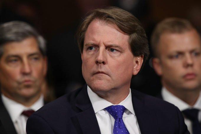 Usa - impeachment - McGahn