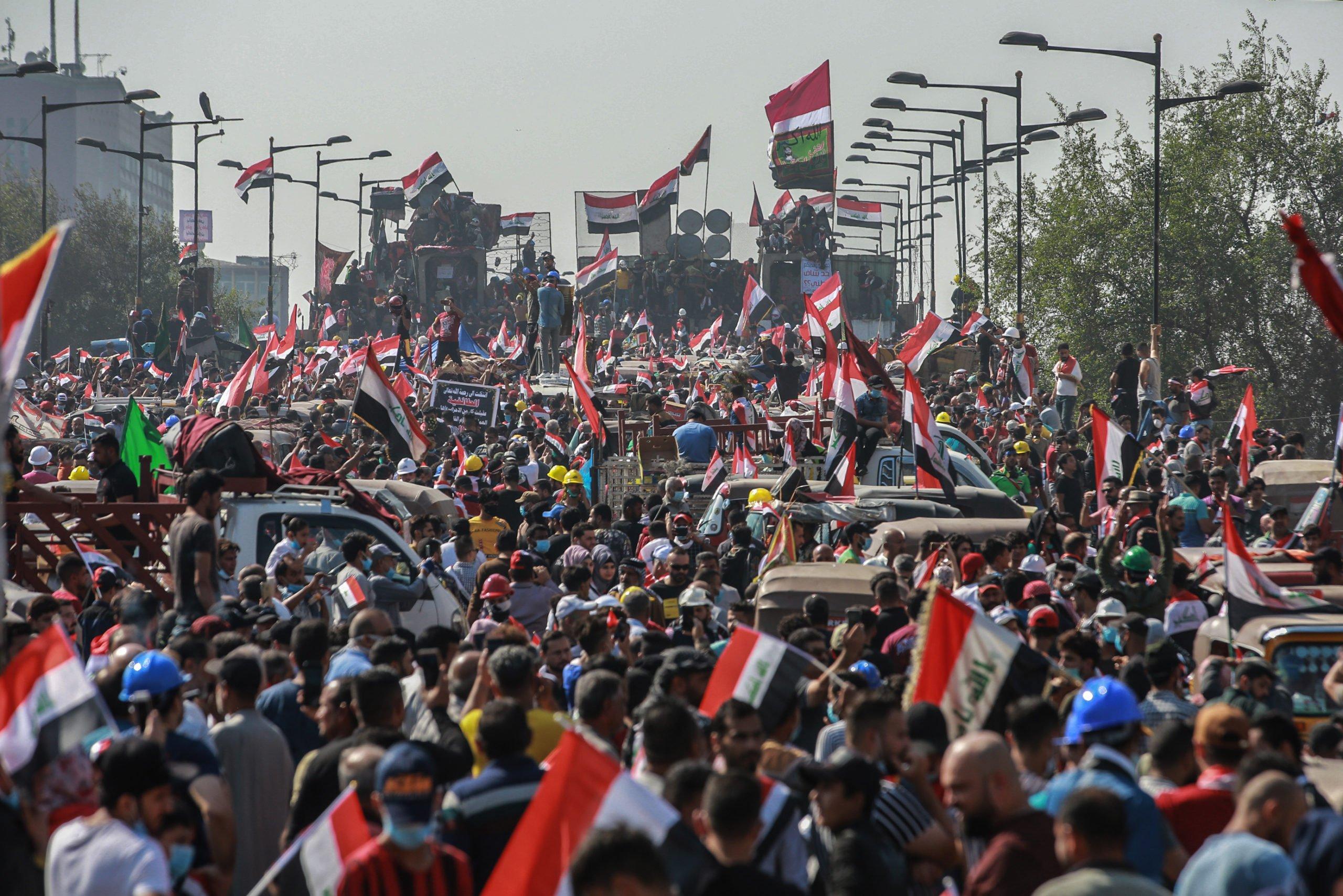 Iraq - proteste - Abdul-Mahdi