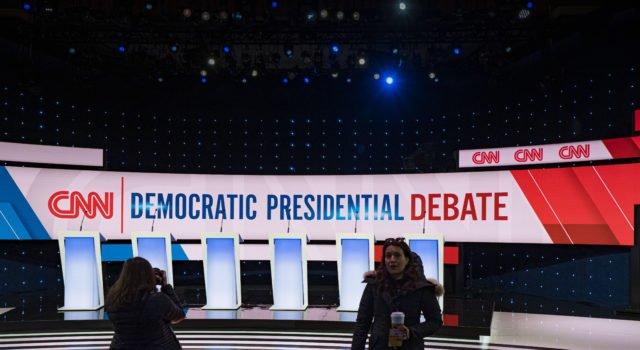 Usa 230230 - dibattito - democratici meno diversi