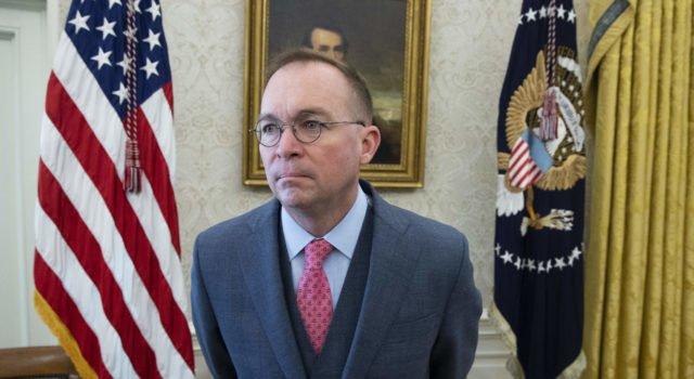 Usa 2020 - impeachment - Mulvaney