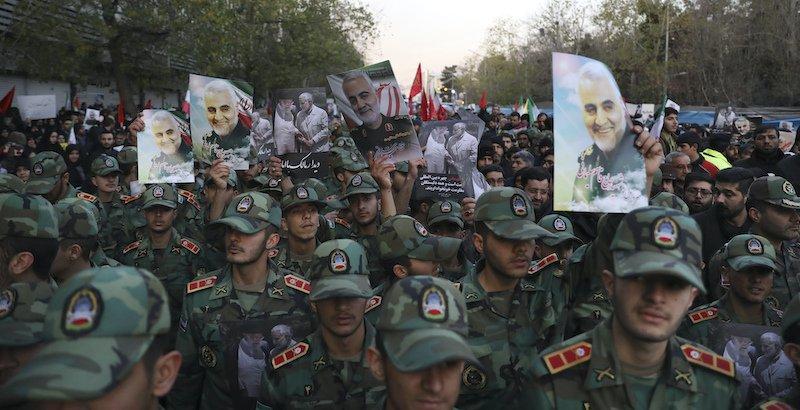 Iran - Soleimani - reazione