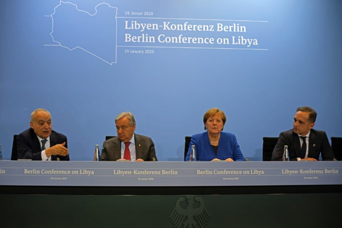 Libia - embargo - tregua - Conferenza di Berlino