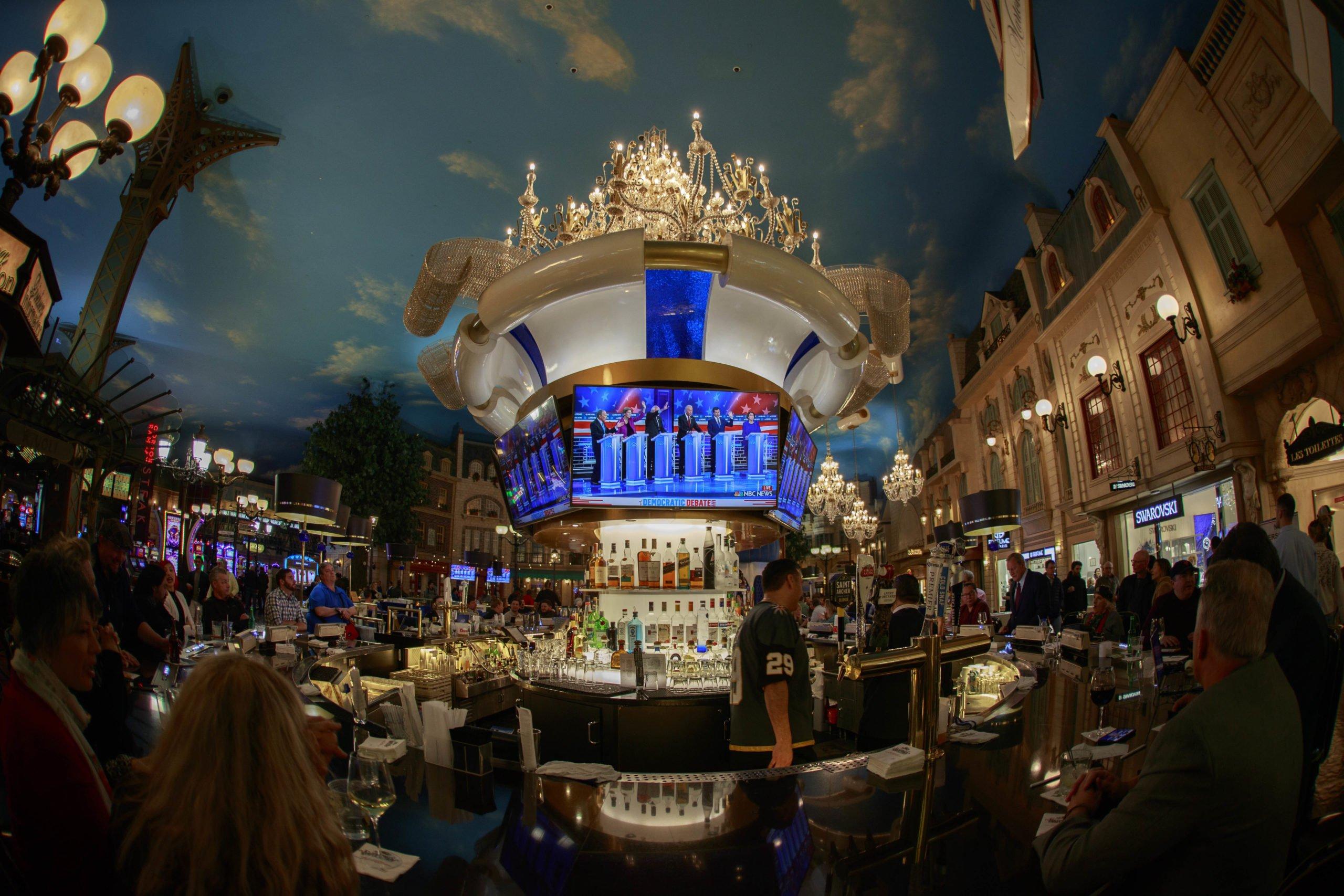 Usa 2020 - Las Vegas - Bloomberg - primarie