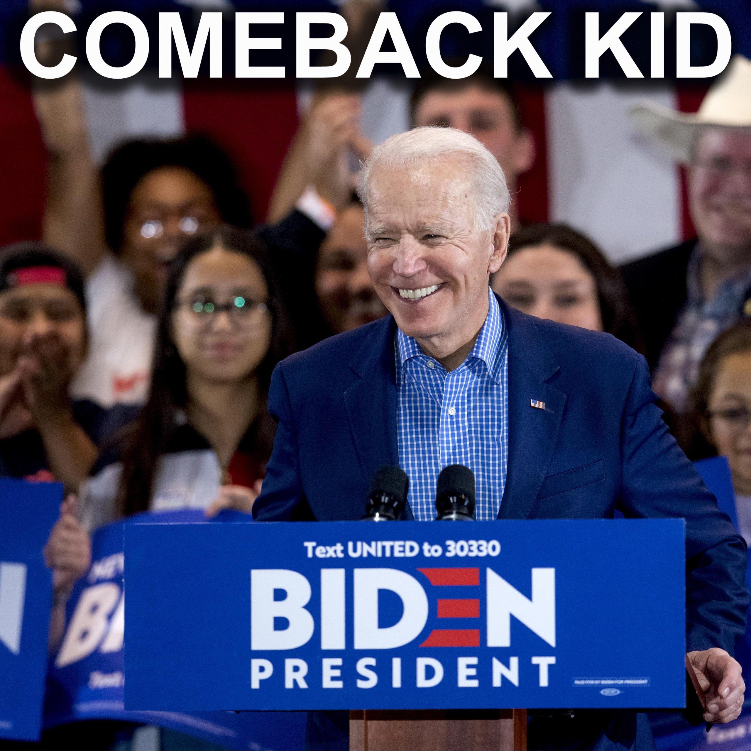 Usa 2020 - Super Martedì - Biden