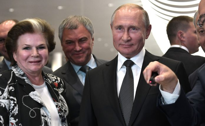 russia - Putin - Tereshkova