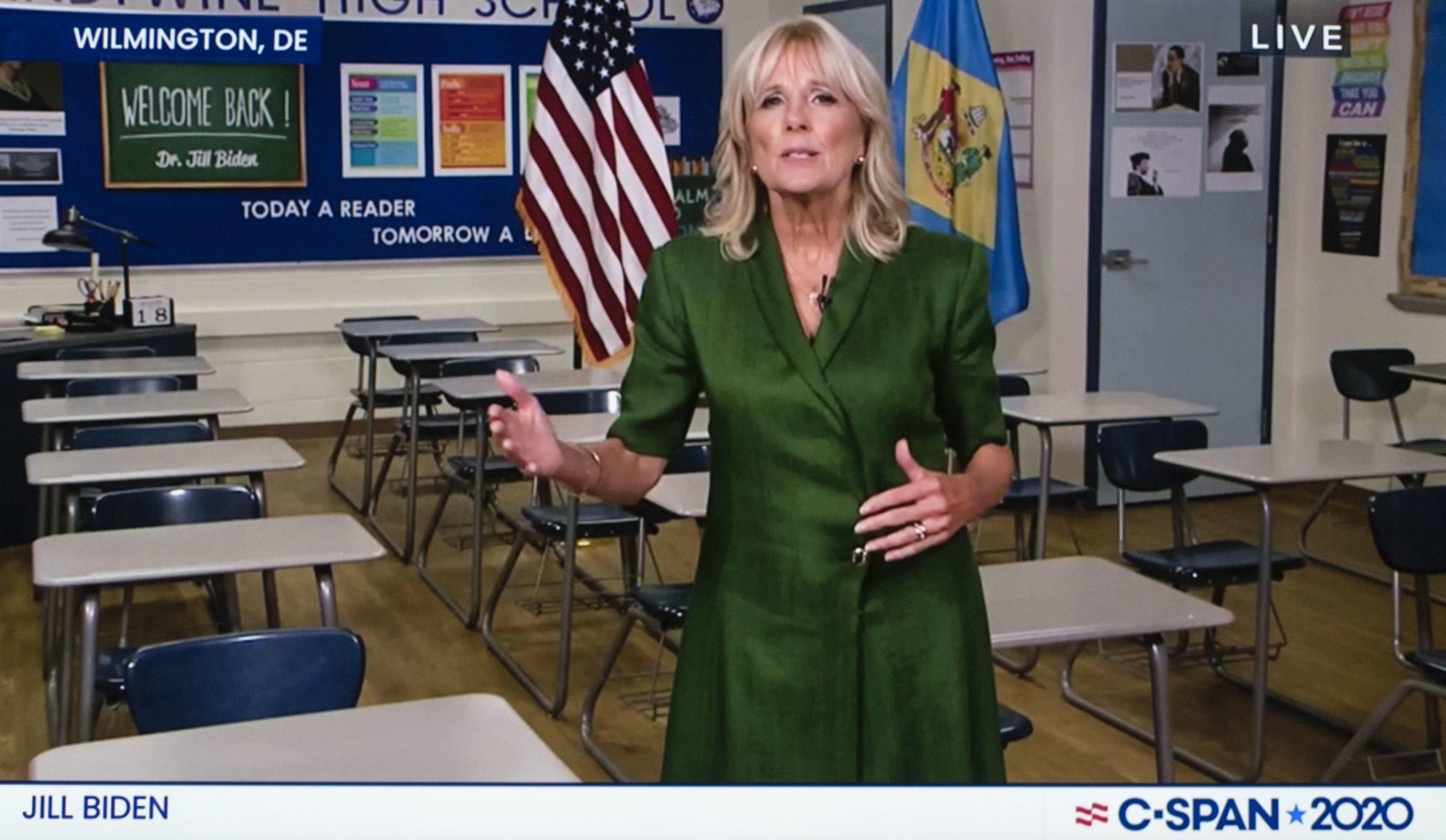 Usa 2020 - democratic convention 2 - Jill Biden
