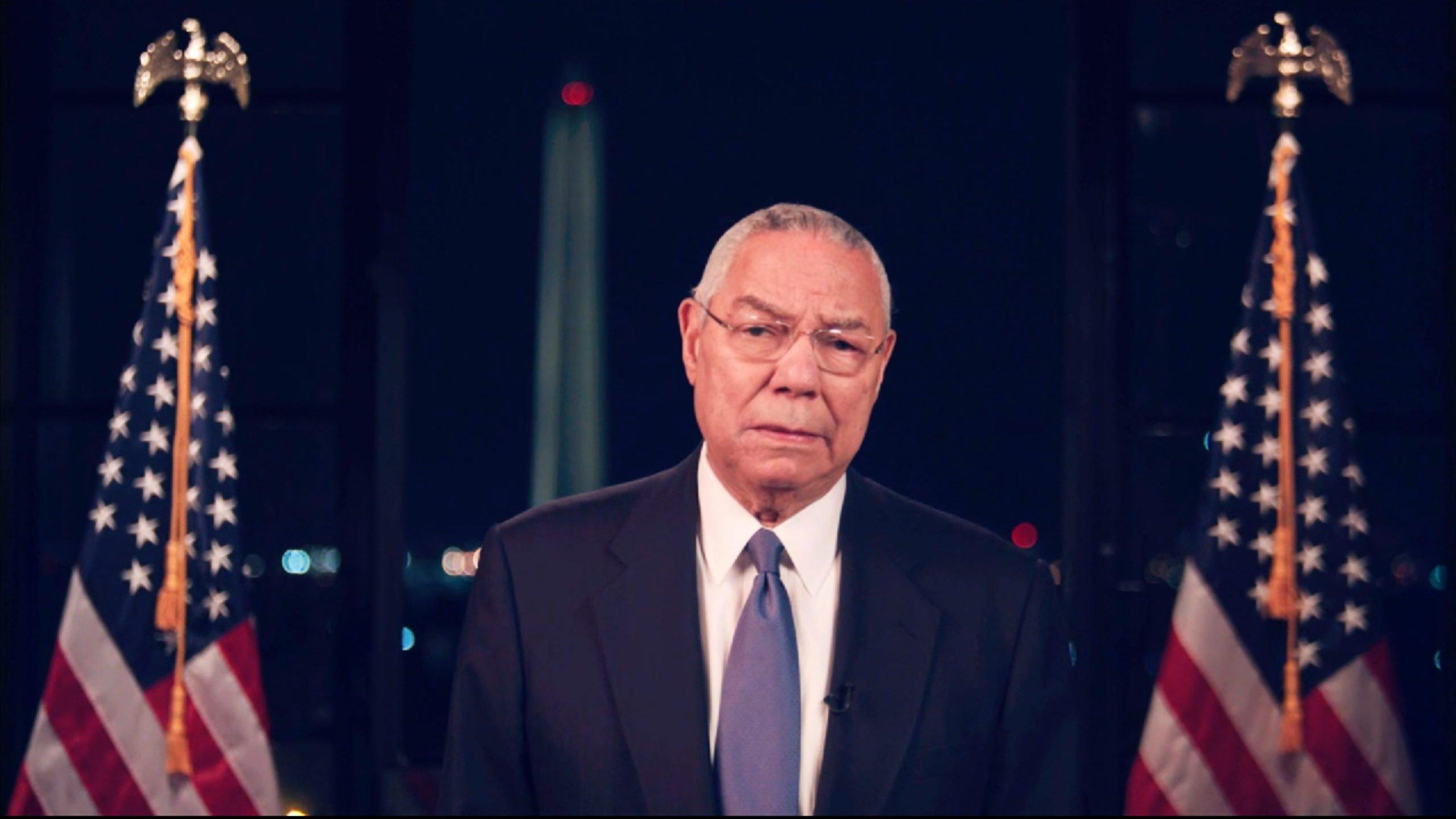 Usa 2020 - democratic convention 3 - Colin Powell