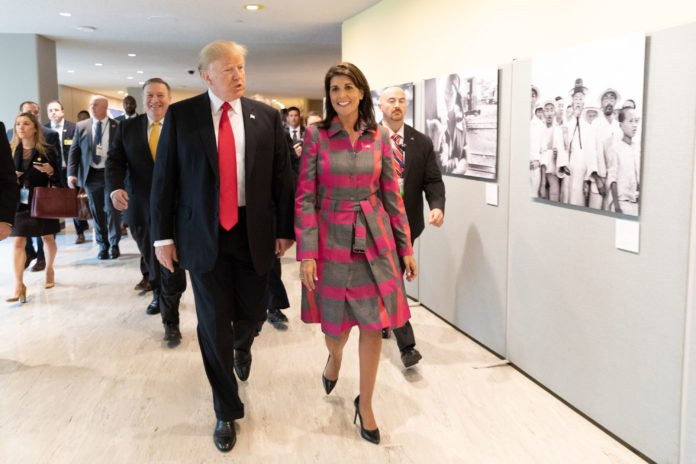 Usa 2020 - Kermesse - Trump - Haley