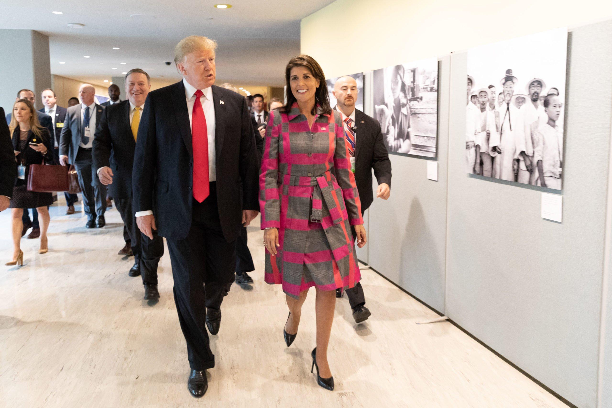 Usa 2020 - Kermesse - Trump - Haley