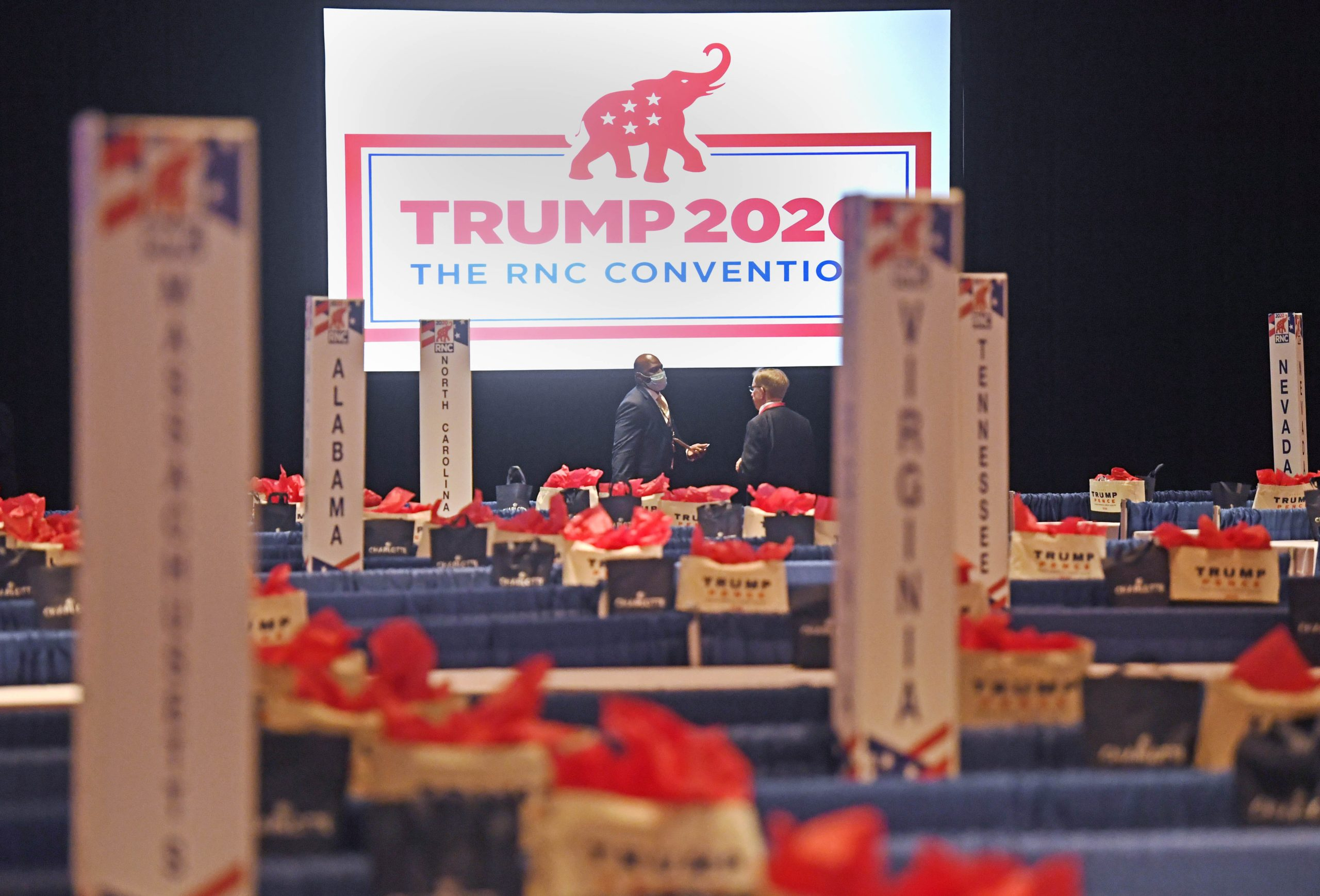 Usa 2020 - convention repubblicana - reality