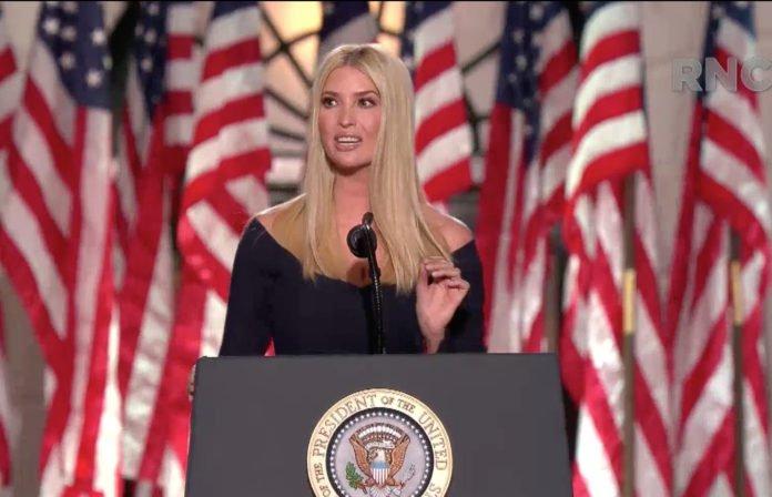 Usa 2020 - convention repubblicana - Ivanka