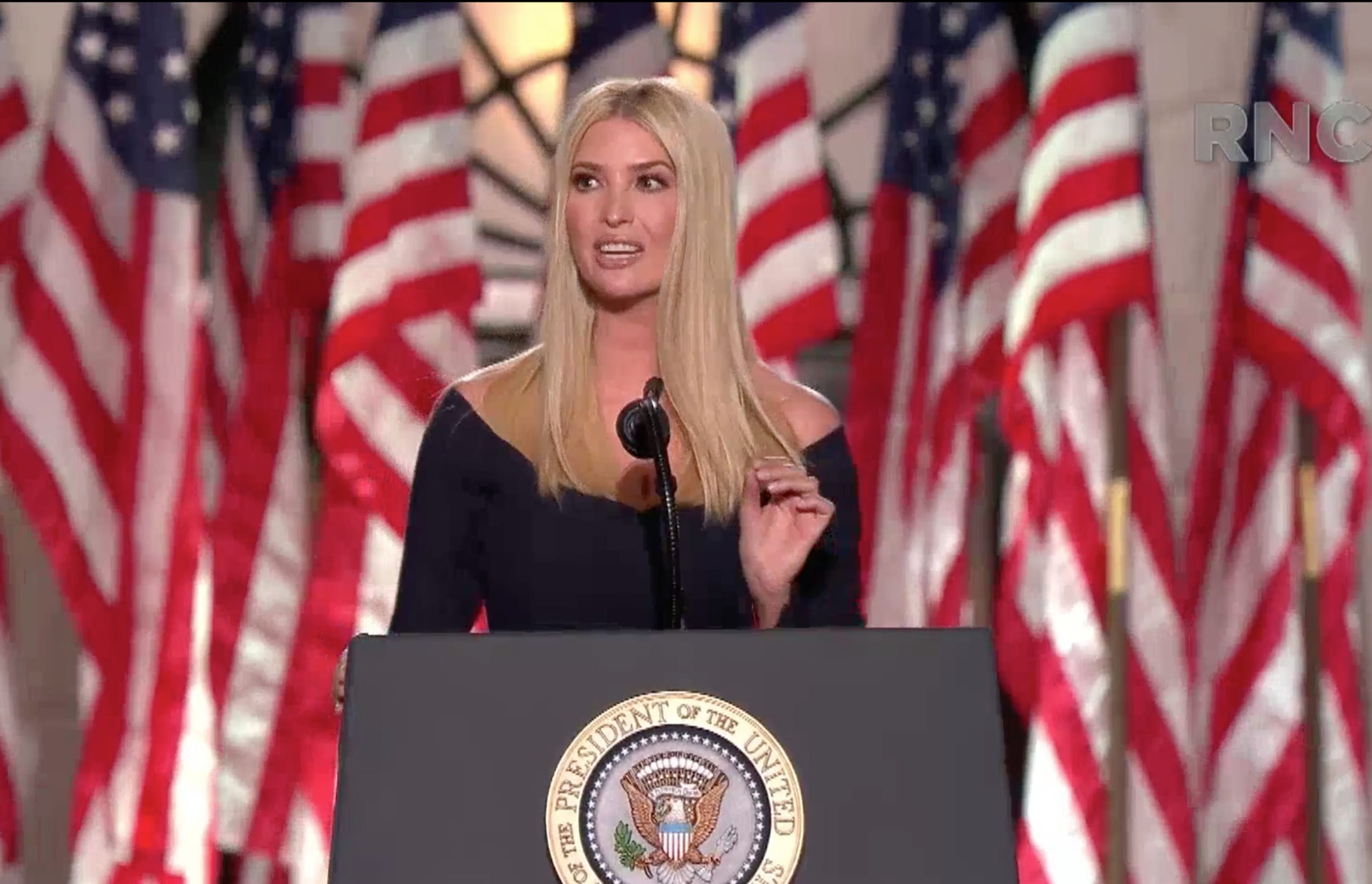 Usa 2020 - convention repubblicana - Ivanka